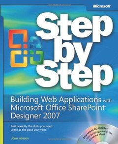 Building Web Applications with Microsoft® Office SharePoint® Designer 2007 Step by Step (Paperback)-cover