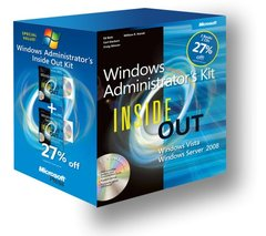 Windows Vista Inside Out Kit: Windows Server 2008 Inside Out and Windows Vista Inside Out (Paperback)-cover
