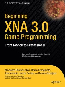 Beginning XNA 3.0 Game Programming: From Novice to Professional (Paperback)-cover