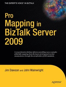 Pro Mapping in BizTalk Server 2009 (Paperback)-cover