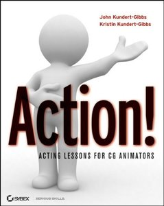 Action! Acting Lessons for CG Animators (Paperback)-cover