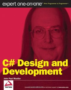 C# Design and Development: Expert One on One (Paperback)-cover