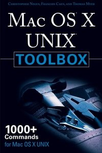 MAC OS X UNIX Toolbox: 1000+ Commands for the Mac OS X (Paperback)-cover