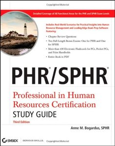 PHR / SPHR: Professional in Human Resources Certification Study Guide, 3/e (Paperback)-cover