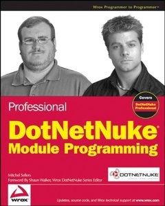 Professional DotNetNuke Module Programming (Paperback)-cover