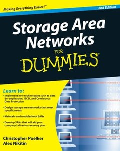 Storage Area Networks For Dummies, 2/e (Paperback)-cover