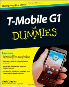 T-Mobile G1 For Dummies (Paperback)-cover