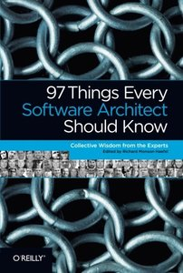 97 Things Every Software Architect Should Know (Paperback)-cover