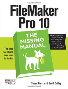 FileMaker Pro 10: The Missing Manual (Paperback)-cover