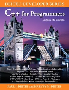 C++ for Programmers (Paperback)-cover