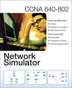 CCNA 640-802 Network Simulator (Hardcover)-cover