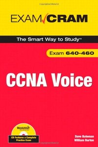 CCNA Voice Exam Cram (Paperback)-cover