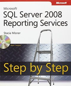 Microsoft SQL Server 2008 Reporting Services Step by Step (Paperback)-cover