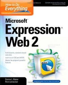 How to Do Everything Microsoft Expression Web 2-cover