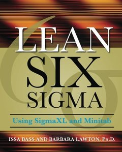 Lean Six Sigma Using SigmaXL and Minitab (Paperback)-cover