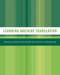 Learning Machine Translation-cover