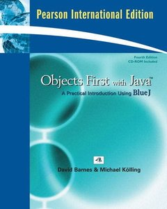 Objects First With Java: A Practical Introduction Using BlueJ, 4/e(Paperback)(美國版ISBN:0136060862)-cover