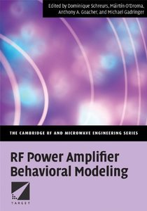 RF Power Amplifier Behavioral Modeling (Hardcover)-cover