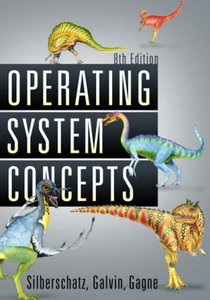 Operating System Concepts (Hardcover)-cover