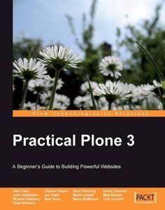 Practical Plone 3: A Beginner's Guide to Building Powerful Websites (Paperback)-cover