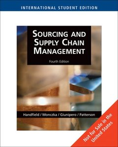 Supply Chain Risk Management: Minimizing Disruptions in Global Sourcing, 4/e(Hardcover)