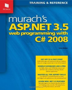 Murach's ASP.NET 3.5 Web Programming with C# 2008 (Paperback)-cover