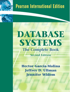 Database Systems: The Complete Book, 2/e (IE-Paperback)-cover