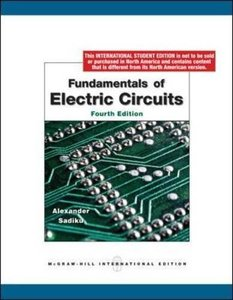 Fundamentals of Electric Circuits, 4/e (IE-Paperback)-cover