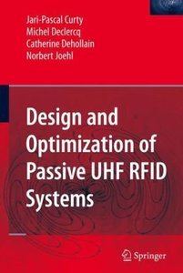 Design and Optimization of Passive UHF RFID Systems (Hardcover)-cover