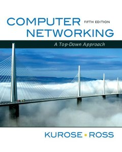 Computer Networking: A Top-Down Approach, 5/e (Hardcover)-cover