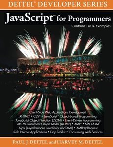 JavaScript for Programmers (Paperback)-cover