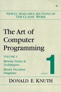 The Art of Computer Programming, Volume 4, Fascicle 1: Bitwise Tricks & Techniques; Binary Decision Diagrams (Paperback)-cover
