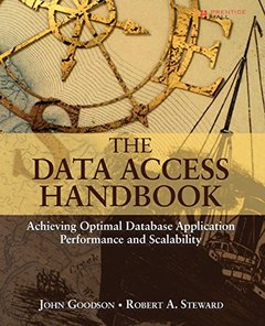 The Data Access Handbook: Achieving Optimal Database Application Performance and Scalability (Paperback)-cover