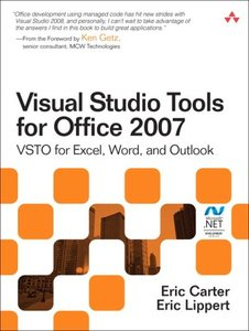 Visual Studio Tools for Office 2007: VSTO for Excel, Word, and Outlook (Paperback)-cover