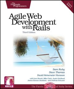 Agile Web Development with Rails, 3/e (Paperback)-cover