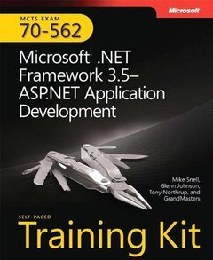MCTS Self-Paced Training Kit (Exam 70-562): Microsoft .NET Framework 3.5 ASP.NET Application Development-cover