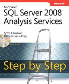 Microsoft SQL Server 2008 Analysis Services Step by Step (Paperback)-cover