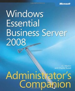Windows Essential Business Server 2008 Administrator's Companion (Hardcover)-cover
