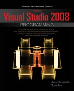 Microsoft Visual Studio 2008 Programming (Paperback)-cover