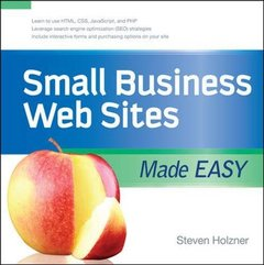 Small Business Web Sites Made Easy (Paperback)-cover