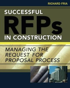 Successful RFPs in Construction (Paperback)-cover