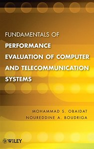 Fundamentals of Performance Evaluation of Computer and Telecommunications Systems (Hardcover)-cover