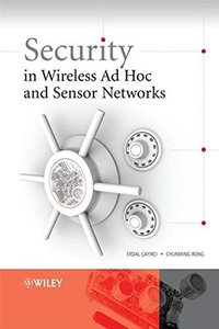 Security in Wireless Ad Hoc and Sensor Networks (Hardcover)-cover