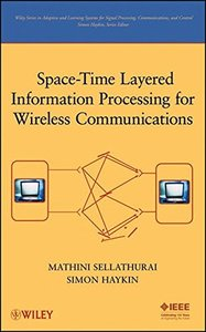 Space-Time Layered Information Processing for Wireless Communications (Hardcover)-cover