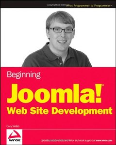 Beginning Joomla! Web Site Development (Paperback)-cover