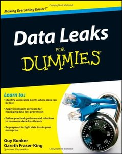 Data Leaks For Dummies (Paperback)-cover