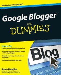 Google Blogger For Dummies (Paperback)