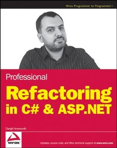 Professional Refactoring in C# & ASP.NET (Paperback)-cover