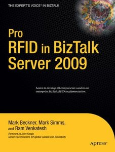 Pro RFID in BizTalk Server 2009 (Paperback)-cover