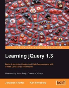 Learning jQuery 1.3 (Paperback)-cover